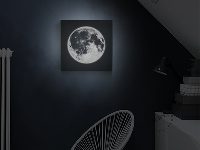 photo of NIGHTLIGHT Moon Frame by Touch Of Modern
