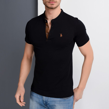 Jase Polo // Black (Small)