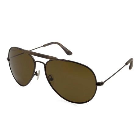 Gant Sun // Sunglasses // Brown + Brown