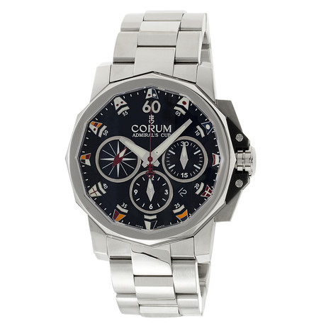 Corum Admiral's Cup Challenger 44 Chronograph Automatic // 753.691.20/V701 AN92 // Unworn