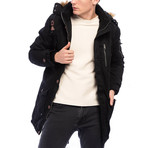 Miguel Coat // Black (2XL)