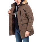 Marston Coat // Brown (L)
