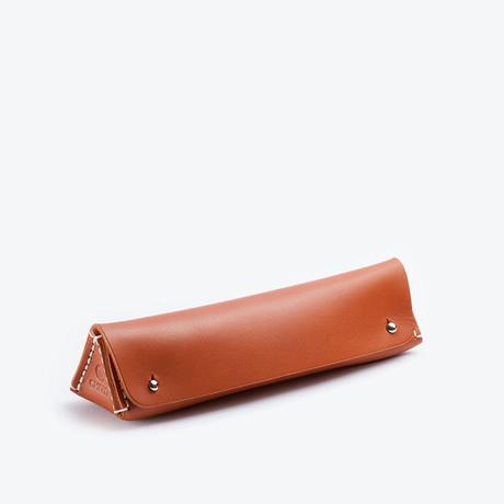 Prisma Pencil Case // Cognac