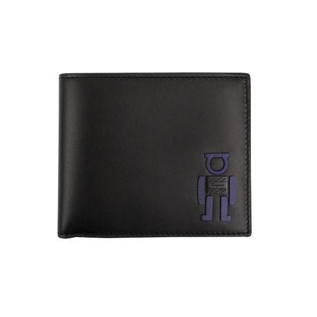 Salvatore Ferragamo // Robot' Gancio Bi-Fold Wallet // Black