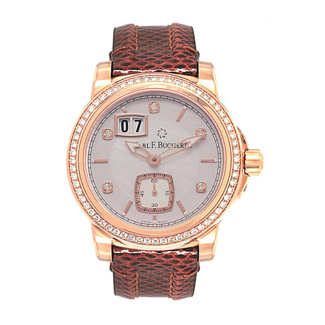 Carl F. Bucherer Ladies Patravi Big Date Manual Wind // 00.10630.03.77.11 // Store Display