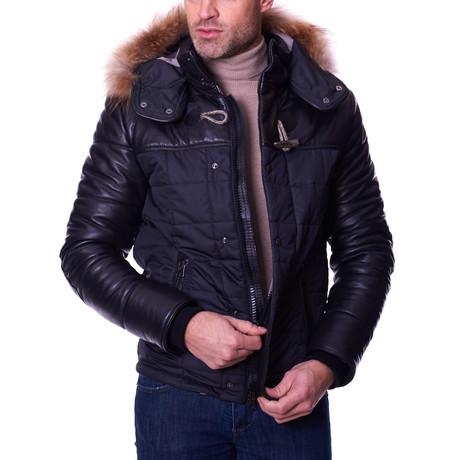 Sky Leather Jacket // Black (Euro: 46)
