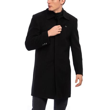 Dempsey Coat // Black (S)