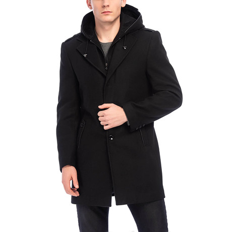 Alton Coat // Black (S)