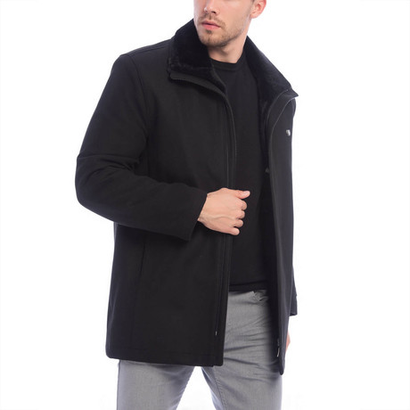 Nazario Coat // Black (S)