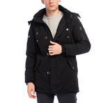 Marsden Coat // Black (L)