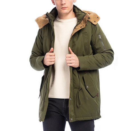 Duarte Coat // Dark Green (S)