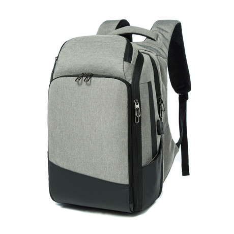Something Secure Backpack // Gray