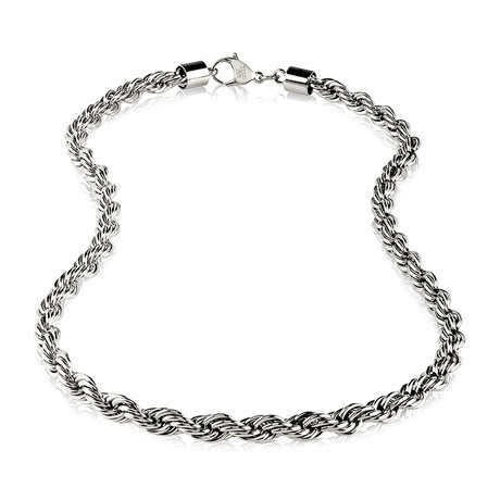 """Steel Rope Chain // 8mm (24"""")"""