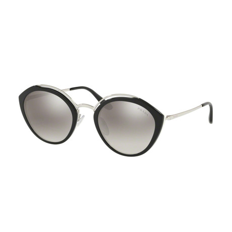 Women's Logo Phantos Sunglasses // // Black + Silver
