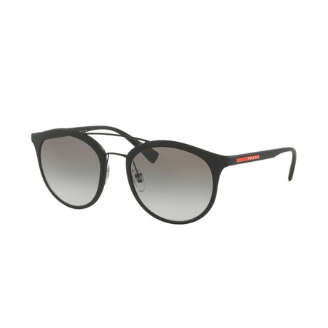 Men's Linea Rossa Logo Phantos Sunglasses // Black