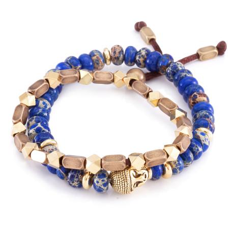 The Steel Buddhist Band Bracelet