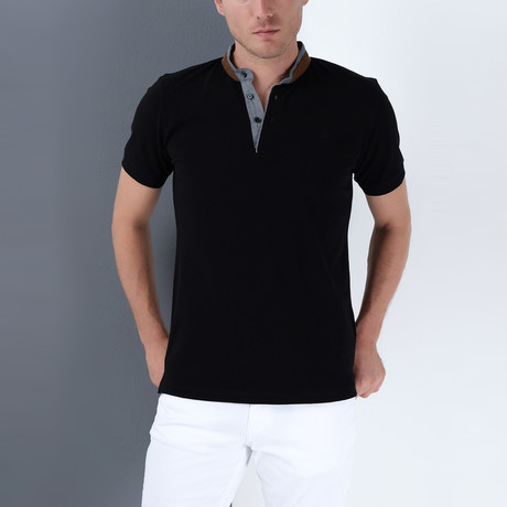 Beckett Polo // Black (3X-Large)