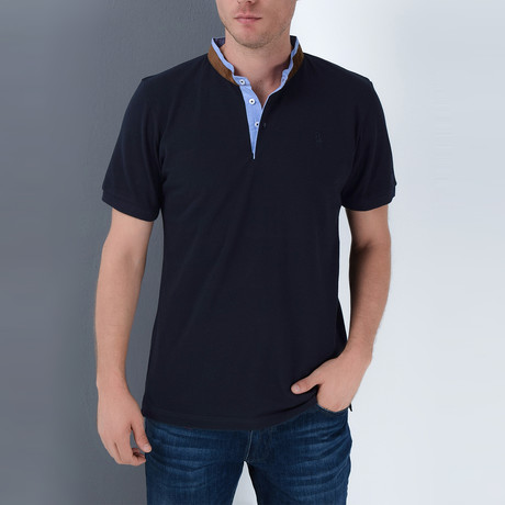 Beckett Polo // Dark Blue (Small)