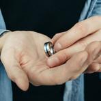 Seiryu Ring // Silver + Blue (Size 6)