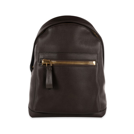 Leather Backpack // Dark Brown