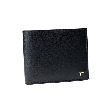Men's Leather Wallet V2 // Black
