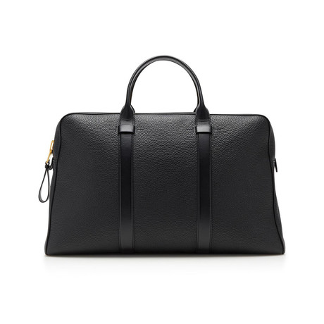 Buckley Grained Leather Briefcase // Large // Black