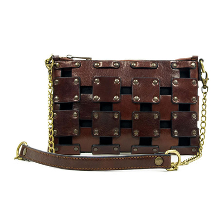 Gone Girl // Leather Clutch // Brown