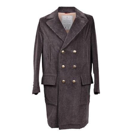 Corduroy Coat // Gray (Euro: 46)