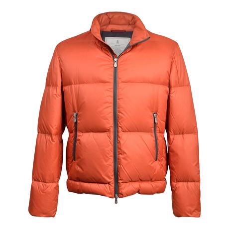 Puffer Jacket // Orange (XS)