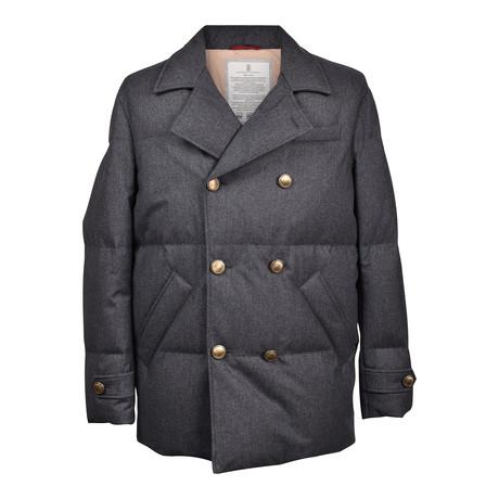 Puffer Jacket // Dark Gray (XS)
