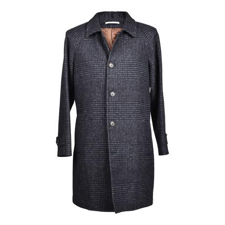Wool Coat // Navy Blue (Euro: 46)