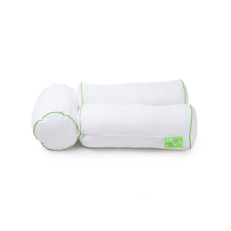 Sleep Yoga // Multi-Position Body Pillow // Cotton Cover Included