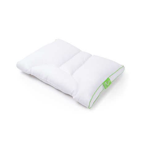 Sleep Yoga // Dual Position Pillow // Medium Soft // Cotton Cover Included