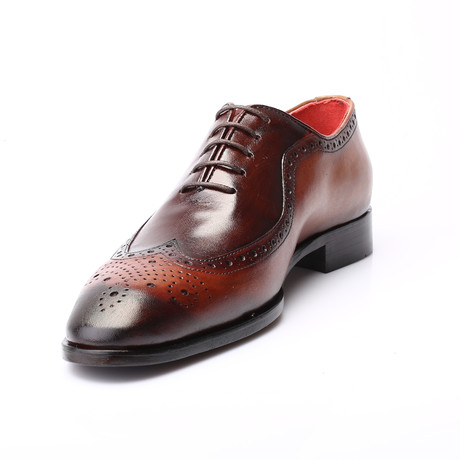 Deco Dress Shoes // Tab + Brown (Euro: 39)
