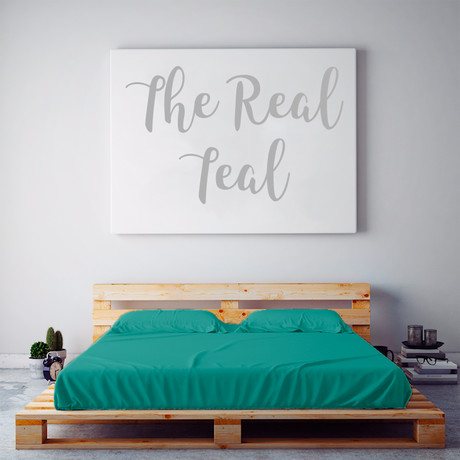 Moisture Wicking 1500 TC Soft Sheet Set // The Real Teal (Full)