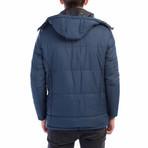 Cooper Coat // Dark Blue (Medium)