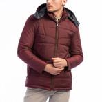 Cooper Coat // Burgundy (2X-Large)