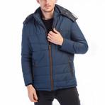 Cooper Coat // Dark Blue (Large)