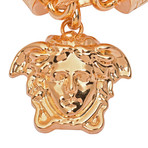 Gianni Versace // Medusa Necklace // Gold Tone