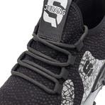 S Series // Black + Gray (US: 7.5-8)