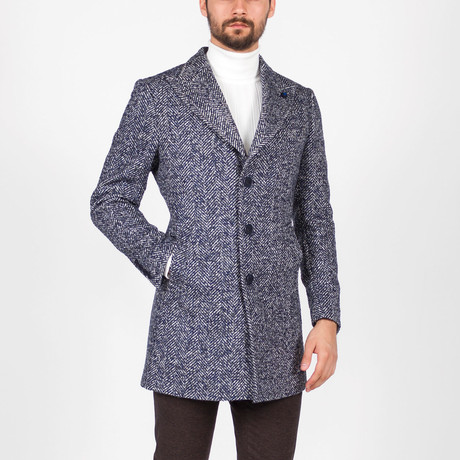 Marvin Coat // Dark Blue (Euro: 46)