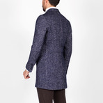 Bruce Wool Coat // Dark Blue (Euro: 50)