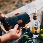Firelight Tumbler 2-Pack + Hard Case (Gunmetal (Gloss) +  Charcoal Wool Hard Case)