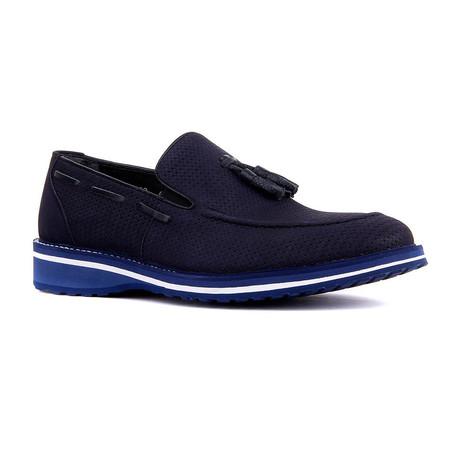 Bruce Classic Shoe // Navy Blue (Euro: 39)