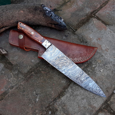 Damascus High Carbon Chef Knife