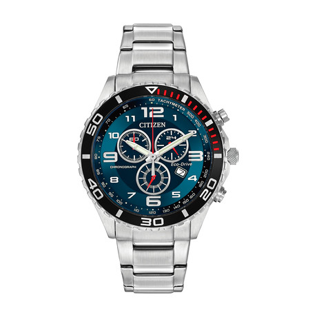Citizen Brycen Chronograph Quartz // AT2121-50L