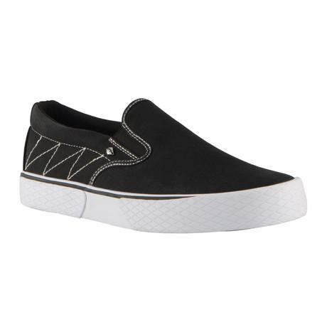 Condor Sneaker // Black + White + White (US: 7)