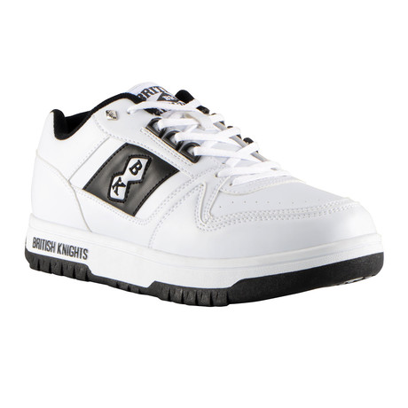 Kings SL Low Sneaker // White + Black (US: 7)