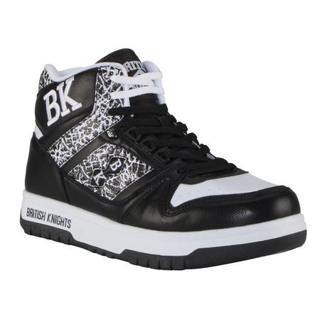 Kings SL Sneaker // Black + White + El (US: 7)