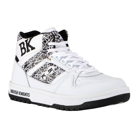 Kings SL Sneaker // White + Black + El (US: 7)